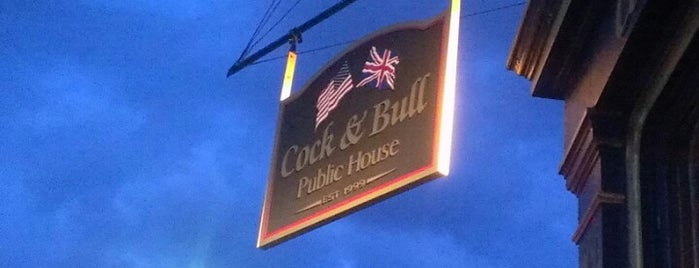 Cock & Bull Public House is one of Bars I've been to.