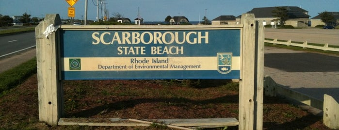 Scarborough State Beach is one of Warwick.