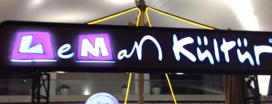 Leman Kültür is one of İzmir'de uğranılması gereken lezzet noktaları.