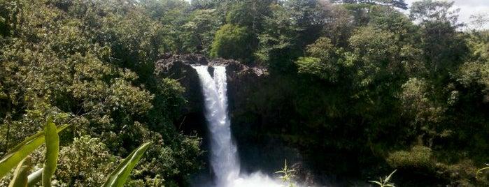 Rainbow Falls Park is one of My Big Island.