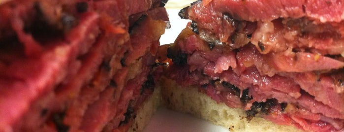 Katz's Delicatessen is one of Best 200 Spots to Eat in Manhattan.