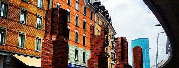 Escher-Wyss-Platz is one of Zurich.