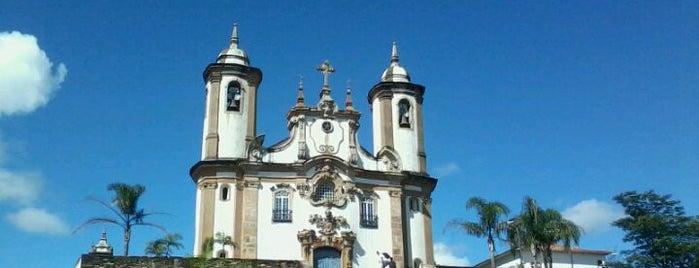 Igreja Nossa Senhora do Carmo is one of Ouro Preto.