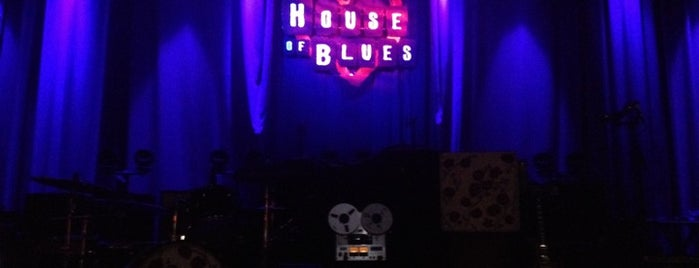 House of Blues is one of Central Dallas Lunch, Dinner & Libations.