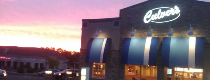 Culver's is one of Locais curtidos por David.