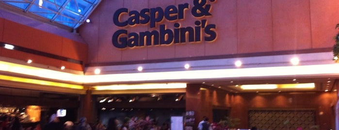 Casper & Gambini's is one of Where, When & Who List 2!.