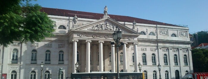 Teatro Nacional D. Maria II is one of 101 coisas para fazer em Lisboa antes de morrer.