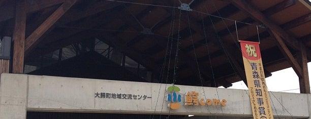 大鰐町地域交流センター 鰐come is one of 2 : понравившиеся места.