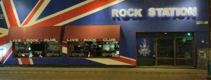 Rock Station Bar is one of Antros León GTO.