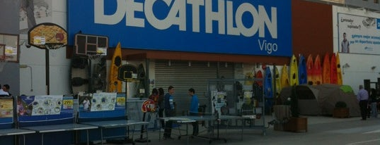 Decathlon Vigo is one of Locais curtidos por Luis.