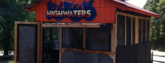 The Highwaters Grill is one of Lieux sauvegardés par leoaze.