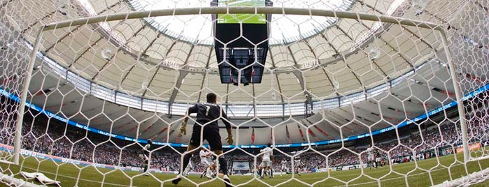 BC Place is one of Vancouver Wish List.