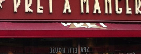 Pret A Manger is one of London!.