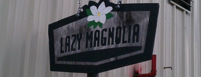 Lazy Magnolia Brewery is one of Locais curtidos por jenn.