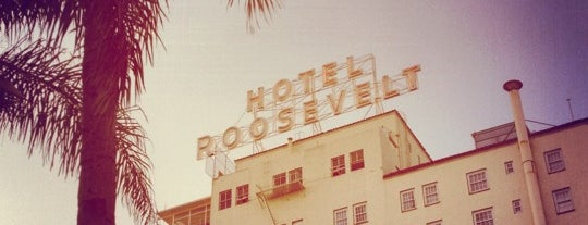 The Hollywood Roosevelt is one of LA Trip.