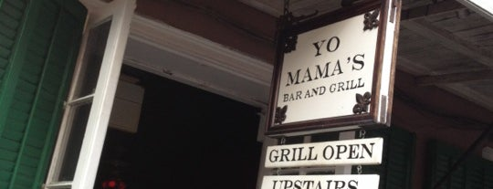 Yo Mama's Bar & Grill is one of New Orleans Bars.