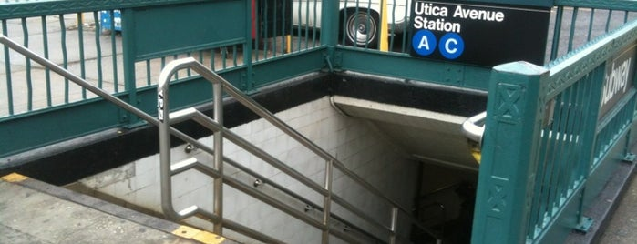 MTA Subway - Utica Ave (A/C) is one of NYC insider's tips.