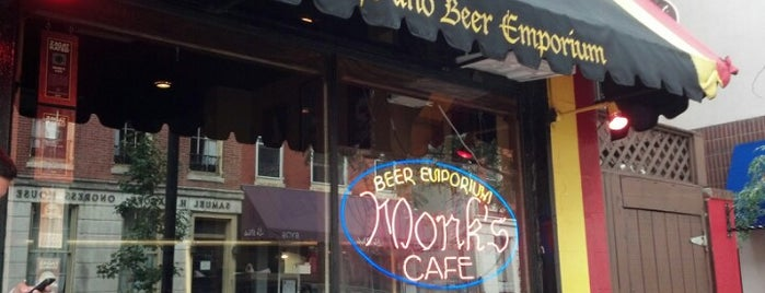 Monk's Cafe is one of Top Craft Beer Bars: Philly Edition.