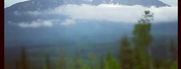 Glacier National Park is one of Canadian National Parks.
