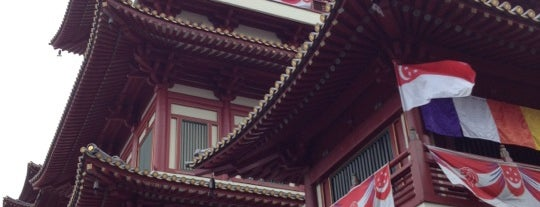 Buddha Tooth Relic Temple & Museum (新加坡佛牙寺龙华院) is one of Singapore/シンガポール.