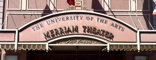 Merriam Theater - University of the Arts is one of Cathy's Liked Places.