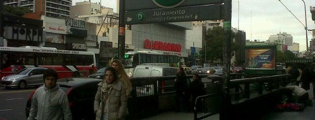 Av. Cabildo y Juramento is one of สถานที่ที่ Tiziana ถูกใจ.