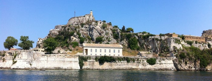 Old Fort is one of Corfu, Greece.