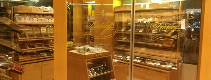 Davidoff is one of Cigar Spots & Lounges.