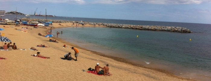 Sant Antoni Beach is one of Went before.