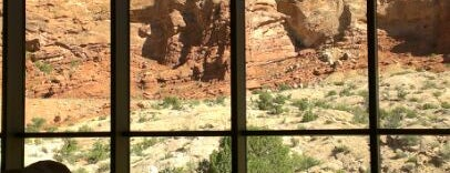Visitor Center - Arches National Park is one of UTAH, Not Just Mormons.
