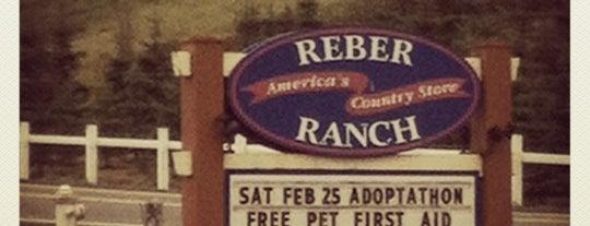 Reber Ranch is one of Craig'in Beğendiği Mekanlar.