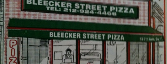 Bleecker Street Pizza is one of 5-Block Food Radius from Greenwich Village Apt.