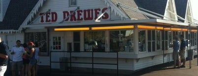Ted Drewes Frozen Custard is one of Historic Route 66.