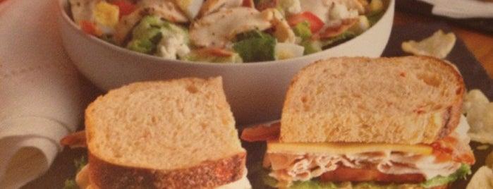 Panera Bread is one of Pittsburgh Restaurants.