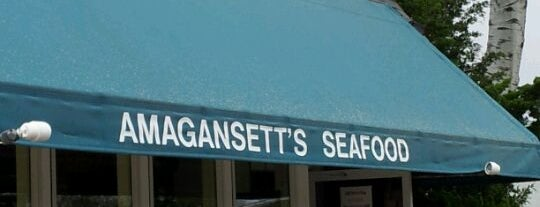 Amagansett Seafood Store is one of The Hamptons.