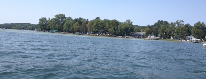 Lake Leelanau is one of Michigan Camping.