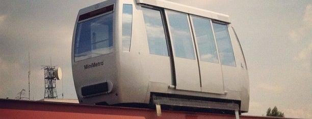 Terminal Minimetrò Pian di Massiano is one of Posti che sono piaciuti a Officine Creative.