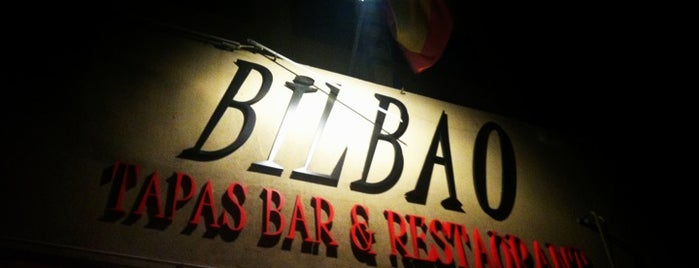 Bilbao Tapas Bar and Restaurant is one of Locais salvos de Steve.