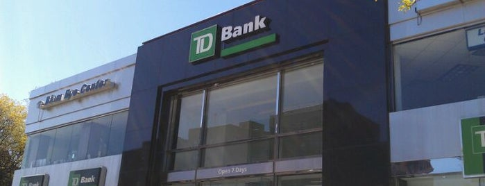 TD Bank is one of Places.