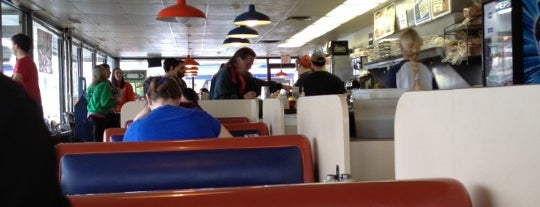 Merry Ann's Diner is one of Top.