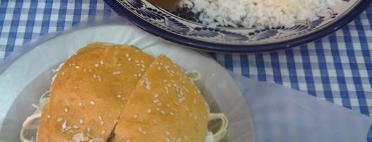 """Cemitas """"La Poblana"""" is one of Puebla - To Try."""