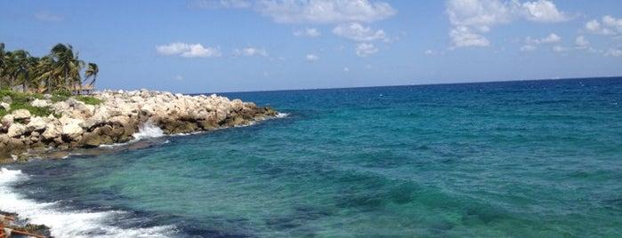 Xcaret is one of Sitios Internacionales.