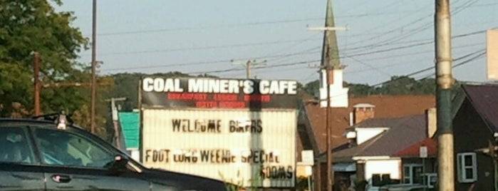 Coal Miner's Cafe is one of Orte, die Shelley gefallen.