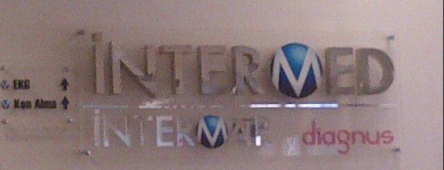 Intermed is one of Tempat yang Disukai Nilüfer Halil.