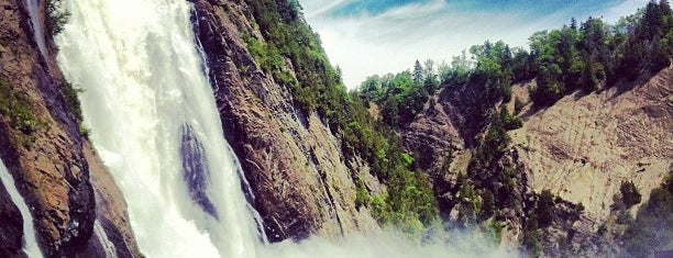Parc de la Chute-Montmorency is one of World Heritage Sites List.