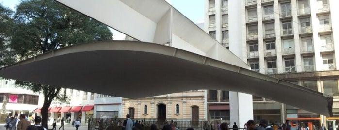 Praça do Patriarca is one of Sampa 460 :).