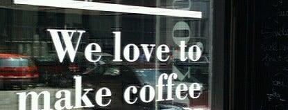 Hip downtown cafés