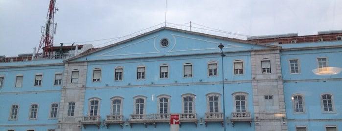 Estação Ferroviária de Santa Apolónia is one of Lisboa Moderna.