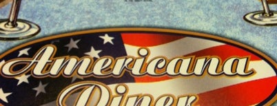 Americana Diner is one of Posti salvati di Lizzie.