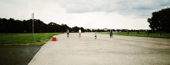 Tempelhofer Park is one of Berlin.